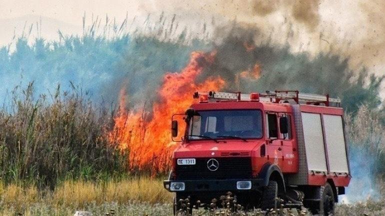 Φωτιά σε δασική έκταση στα Βίλια - Εκκενώνονται οικισμοί