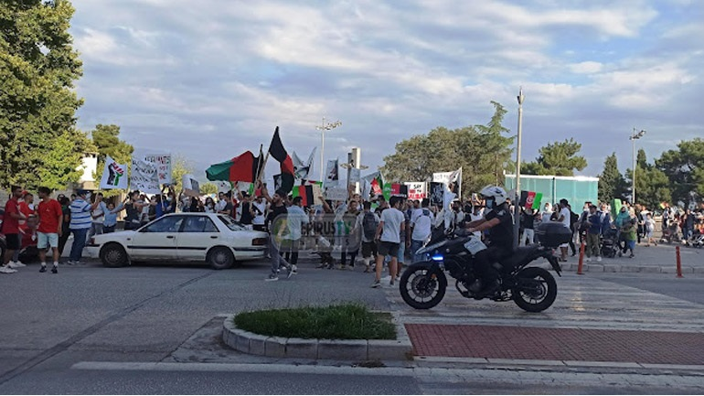 Πορεία Αφγανών στα Ιωάννινα