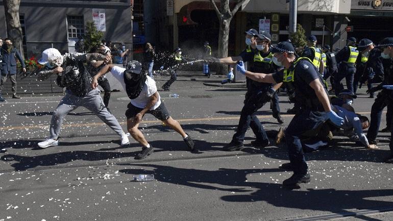 Αυστραλία: H αστυνομία απέκλεισε το κέντρο του Σίδνεϊ για να εμποδίσει διαδήλωση εναντίον του lockdown