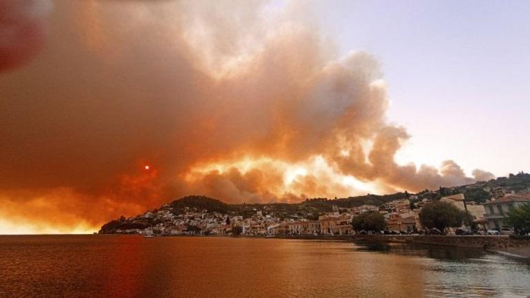 ''Μπλόκο'' στις ανεμογεννήτριες στα καμένα της Εύβοιας επιχειρεί  να βάλει ο δήμος Λίμνης-Αγίας Άννας