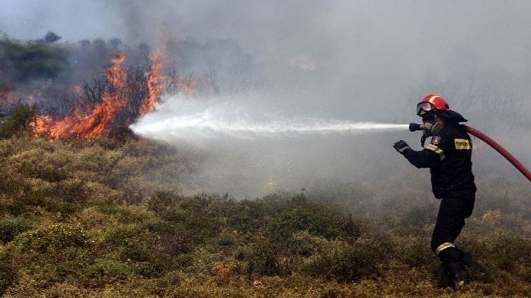 Υπό έλεγχο η πυρκαγιά στο Οροπέδιο Λασιθίου
