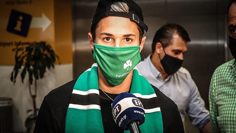Παναθηναϊκός - Στην Αθήνα ο Βιτάλ: «Μίλησα με τους Ζιλμπέρτο Σίλβα και Μαουρίσιο, ήρθα σε έναν μεγάλο σύλλογο»