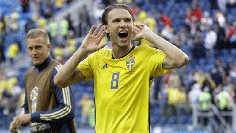 Σουηδία: Χάνει το ματς με την Ελλάδα ο Έκνταλ