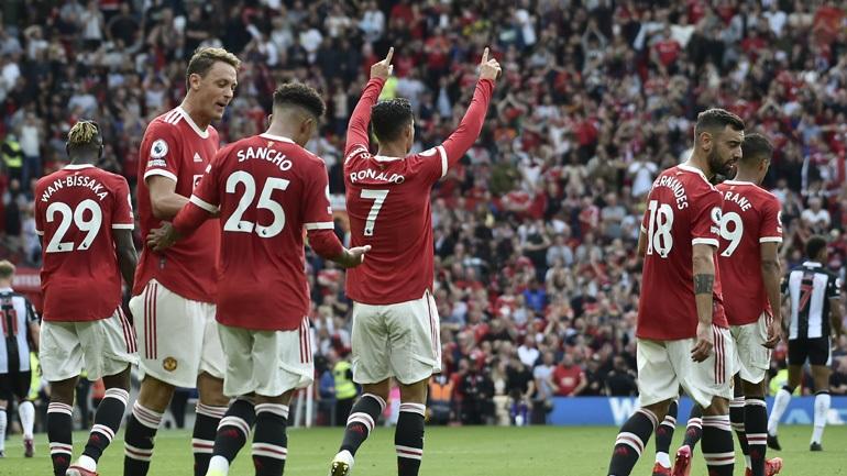 Αγγλία: Νίκη με... υπογραφή Ρονάλντο για τη Μάντσεστερ Γιουνάιτεντ, 4-1 τη Νιούκαστλ