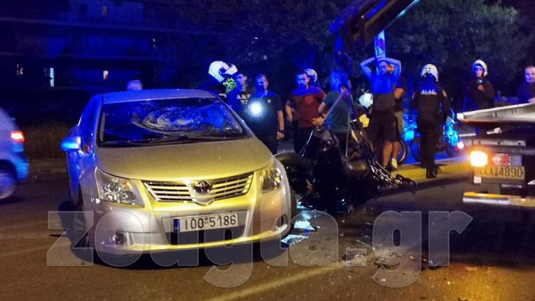 Θανατηφόρο τροχαίο με θύμα μοτοσικλετιστή στη λεωφόρο Ηρακλείου