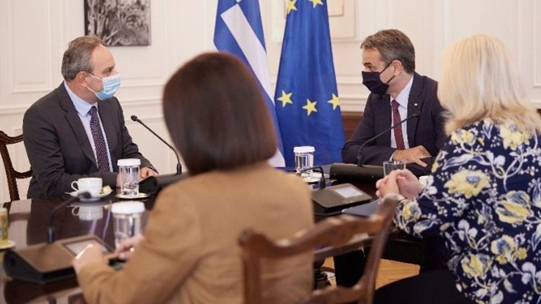 Συνάντηση του πρωθυπουργού με τον νέο ΓΓ του ΑΚΕΛ