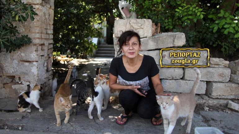 Ελευσίνα: Φιλόζωη μένει άστεγη και μαζί με αυτή τα δεκάδες αδέσποτα που φροντίζει