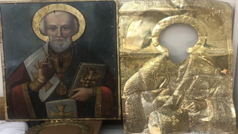 Πάτρα: Μπούκαρε στον ναό και έκλεψε εικόνα του Αγίου Νικολάου