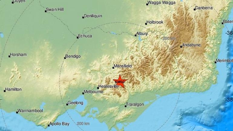 Σεισμική δόνηση 5,9 Ρίχτερ στην Αυστραλία