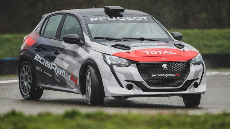 Θετική ανταπόκριση των αγωνιζομένων με τα δικίνητα 208 Rally4