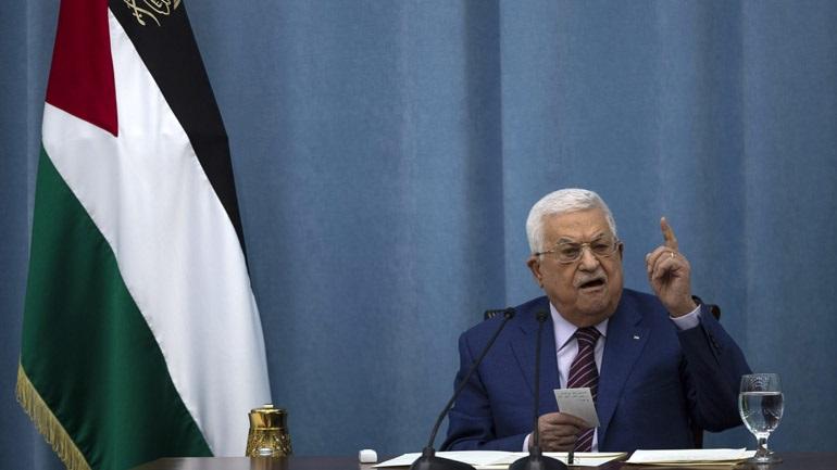 O πρόεδρος της Παλαιστινιακής Αρχής δίνει «έναν χρόνο» στο Ισραήλ για να αποσυρθεί από τα παλαιστινιακά εδάφη
