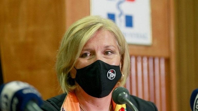 Στη Χίο η αναπληρώτρια υπουργός Υγείας Μίνα Γκάγκα