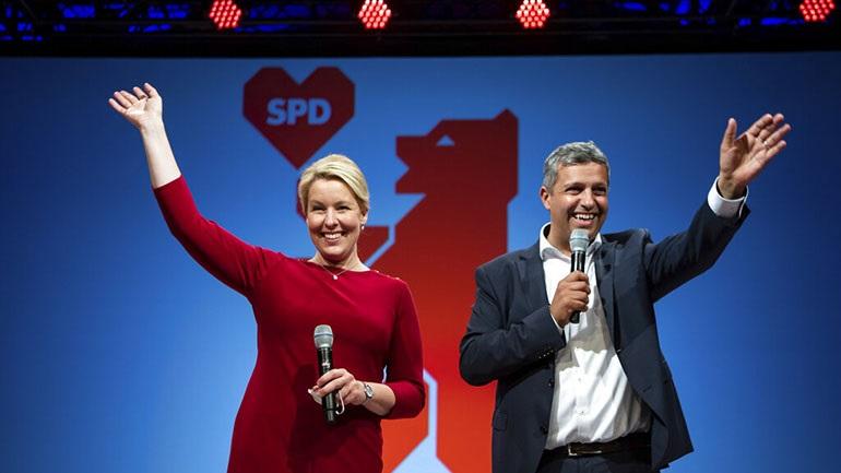 Νίκες του SPD στις κρατιδιακές αναμετρήσεις σε Βερολίνο και Μεκλεμβούργο-Πομερανία