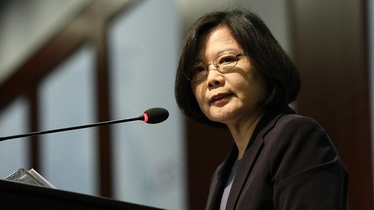 Τσάι Ινγκ-βεν: Η Ταϊβάν δεν επιδιώκει τη στρατιωτική αντιπαράθεση με την Κίνα