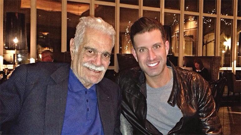 Ο Ομάρ Σαρίφ Τζούνιορ για τον παππού του και τις δικές του εμπειρίες