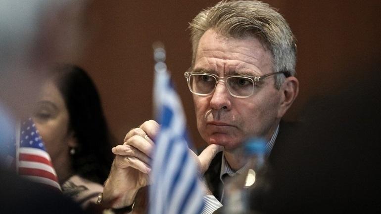 Τζέφρι Πάιατ: Η Ελλάδα είναι σαφώς ένας από τους στενότερους συμμάχους των ΗΠΑ