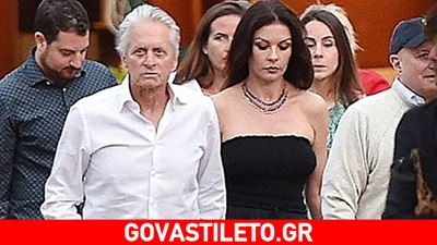 Catherine Zeta Jones & Michael Douglas: Full ερωτευμένοι στο Portofino