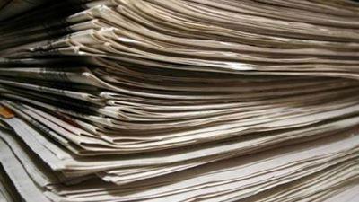Τα πρωτοσέλιδα των εφημερίδων της Κυριακής τα οποία κυκλοφορούν εκτάκτως το Σάββατο 30 Δεκεμβρίου