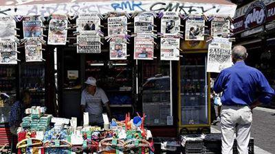 Τα πρωτοσέλιδα των κυριακάτικων εφημερίδων που κυκλοφορούν εκτάκτως το Σάββατο