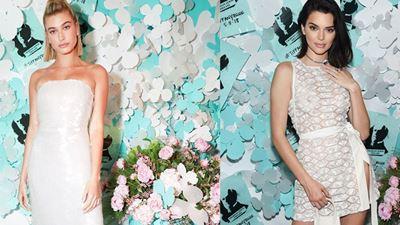 Οι λαμπερές εμφανίσεις των Kendall Jenner και Hailey Baldwin στο party του  Tiffany   Co στη 62cfeca5e77