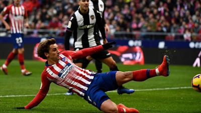 Ένα γκολ ήταν αρκετό για την Ατλέτικο Μαδρίτης, 1-0 τη Λεβάντε