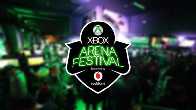 To Xbox Arena Festival Sponsored by Vodafone μοιράζει δώρα αξίας 55.000 €!