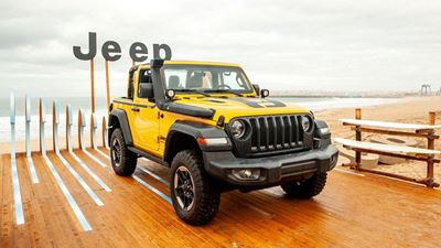 To Jeep Wrangler πάει για surf!