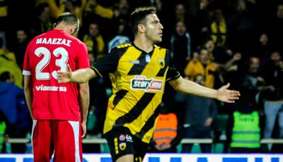 Νικηφόρο το ντεμπούτο του Καρέρα στην ΑΕΚ, 1-0 νίκησε η «Ένωση» στην Ξάνθη