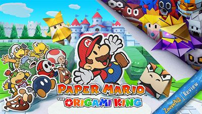 Paper Mario: The Origami King - Review: Ταξίδι στη χάρτινη χώρα