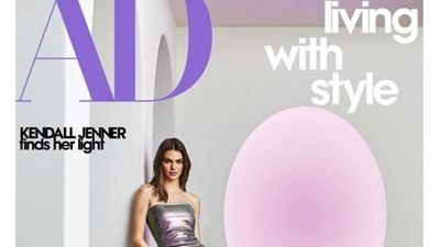 «Kendall Jenner finds her light», το κεντρικό θέμα του Architectural Digest