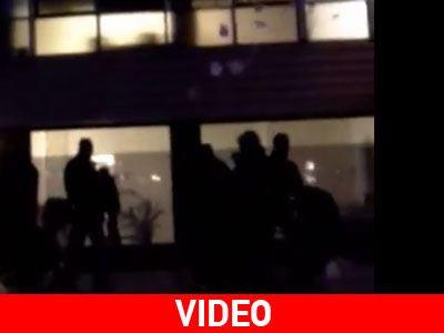 Βίντεο από την επίθεση στην εισπρακτική εταιρεία του Σιούφα