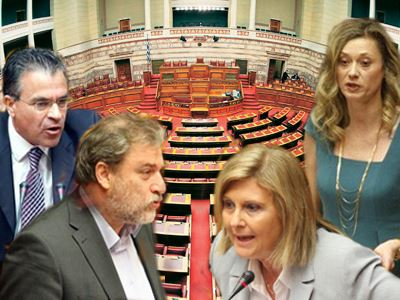 Κοκορομαχίες στη Βουλή με… φραγκόκοτες!