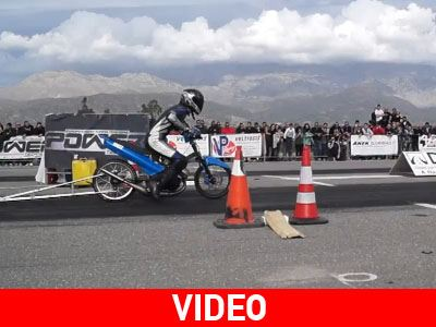 Video από τον τελευταίο αγώνα Dragster του αδικοχαμένου Νίκου Μπερδέ