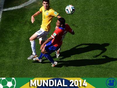 Βραζιλία – Χιλή 1-1 (Παράταση)