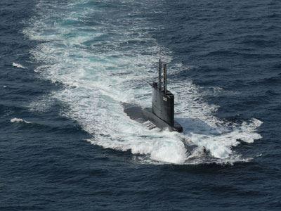 Eλληνικό υποβρύχιο και φρεγάτα στην Ανατολική Μεσόγειο