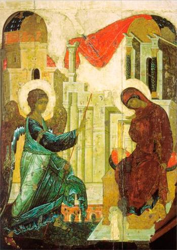 Ένα από τα πλέον φημισμένα του έργα, είναι ο Ευαγγελισμός της Θεοτόκου (1405)