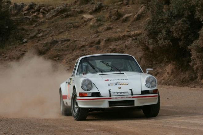Η Porsche 911 με την οποία τράκαρε ο Λ. Γιαννακούλης