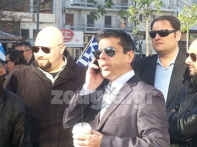 Ο Στάθης Μπούκουρας έφτασε στο Εφετείο λίγο πριν τις 10.30