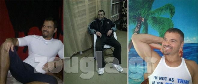 Φωτογραφίες του μέσα από τις φυλακές