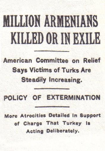Δημοσίευμα της New York Times, το 1915