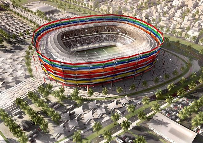 Το τωρινό στάδιο έχει χωρητικότητα 25.000 θεατές και κατασκευάστηκε το 2003