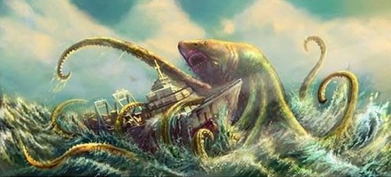 Ο θρύλος του θαλάσσιου τέρατος του νησιού Άνδρος!