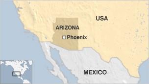 Αμμοθύελλα... καταπίνει δρόμους στο Φοίνιξ της Αριζόνα