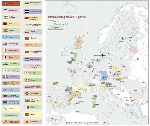 Πρόκληση από τους New York Times: Ο χάρτης της Ευρώπης μετά τα δημοψηφίσματα