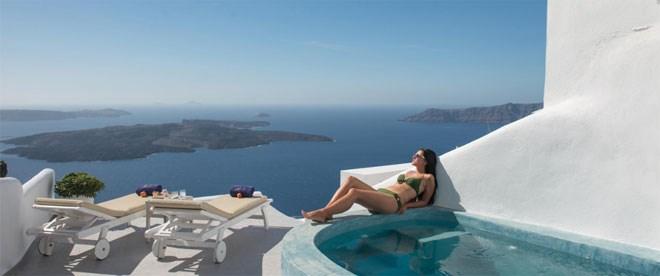Pegasus santorini hotels... χαλάρωση με θέα που