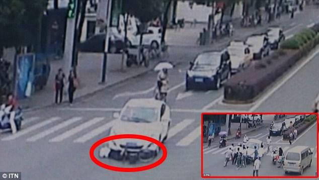Εικόνα από το ατύχημα του Οκτωβρίου