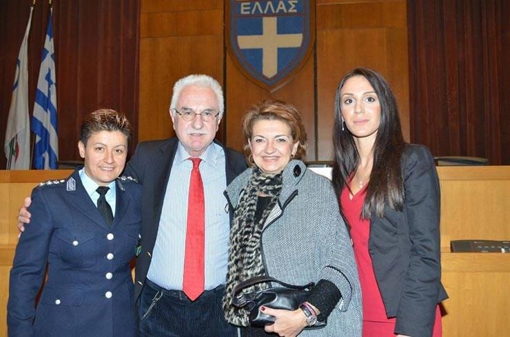 Μαρία Καρπαθάκη, Γιώργος Τσούκαλης, Μαργαρίτα Θεολόγου, Γεωργία Παράσχου, υπεύθυνη επικοινωνίας Unesco