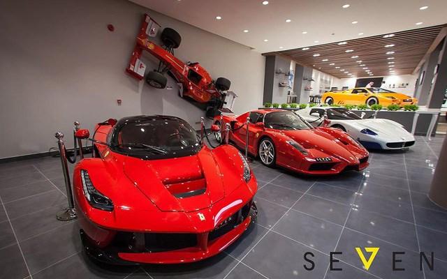 Υπάρχει ακόμα και αυθεντικό μονοθέσιο Ferrari F1