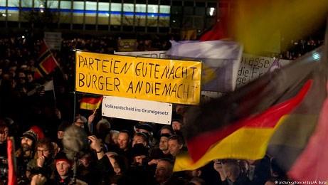 Διαδηλώσεις του κινήματος Pegida στη Δρέσδη