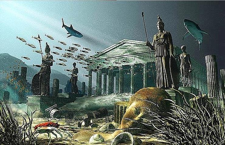 Η Ατλαντίδα (στα Αρχαία Ελληνικά: Ἀτλαντὶς νῆσος) είναι μυθικό νησί που πρωτοαναφέρθηκε στους διαλόγους του Πλάτωνα «Τίμαιος» [1] και «Κριτίας» [2] [3].  Στην περιγραφή του Πλάτωνα, η Ατλαντίδα, που βρίσκεται «πέρα από τις Ηράκλειες στήλες», ήταν μια ναυτική δύναμη που είχε κατακτήσει πολλά μέρη της δυτικής Ευρώπης και της Λυβικής, περίπου 9.000 χρόνια πριν τον Σόλωνα (δηλαδή κατά το 9560 π.Χ.). Μετά από μια αποτυχημένη προσπάθεια να εισβάλει στην Αθήνα, η Ατλαντίδα βυθίστηκε μυστηριωδώς στο πέλαγος «σε μια μόνο ημέρα και νύχτα ατυχίας».